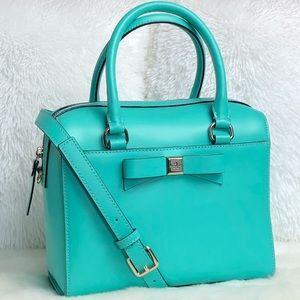 ⭐️Kate Spade Tiffany Blue Leather Satchel